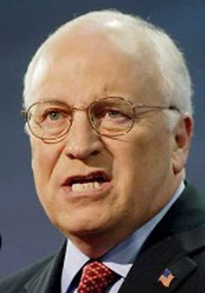 Dick cheney where is he
